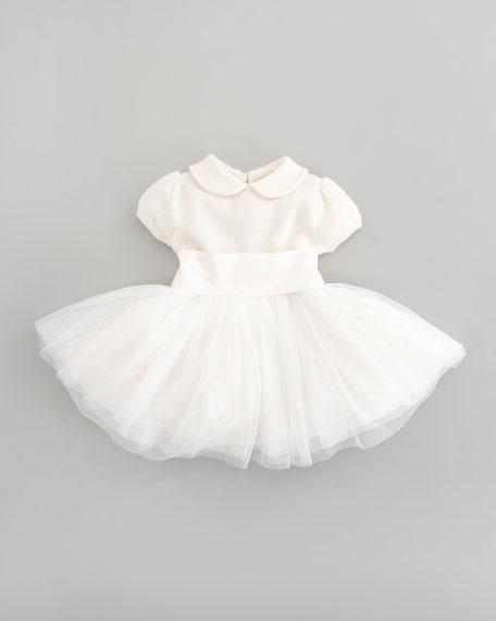 Tulle-Skirt Dress, Sizes 2-6X
