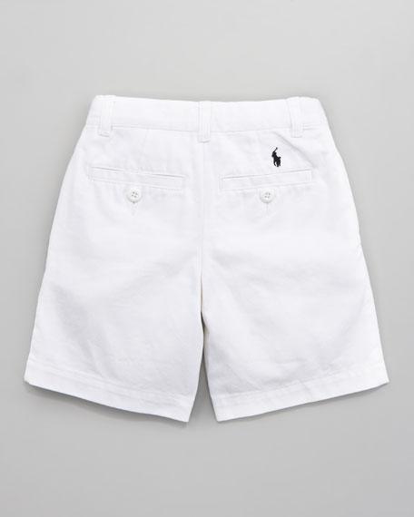 Lightweight Chino Shorts, Sizes 8-10