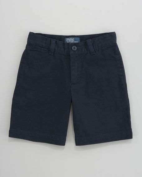 Lightweight Chino Shorts, Sizes 2-7