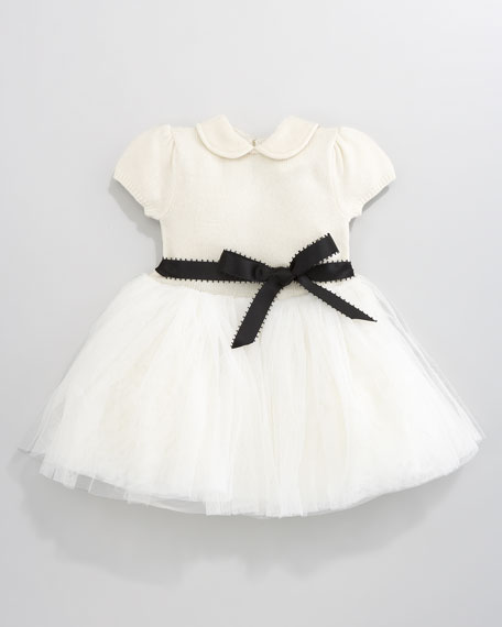 Tulle-Skirt Dress, 12-24 Months