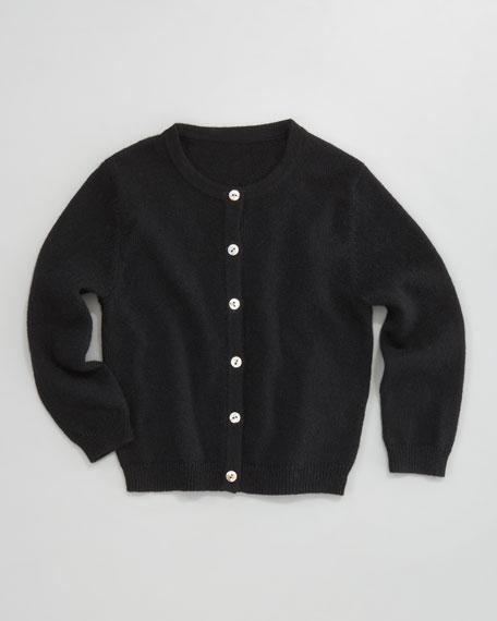 Classic Cashmere Cardigan, Black