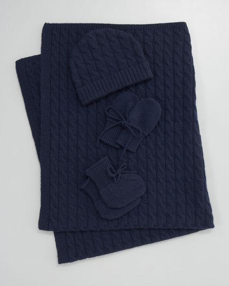 Cashmere Knit Mittens