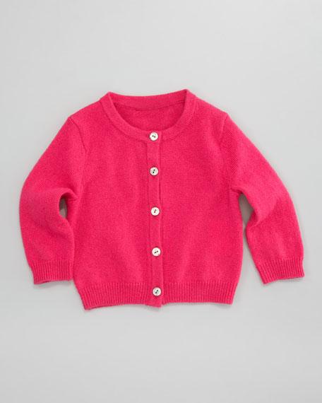 Classic Cashmere Cardigan, Campioni Pink