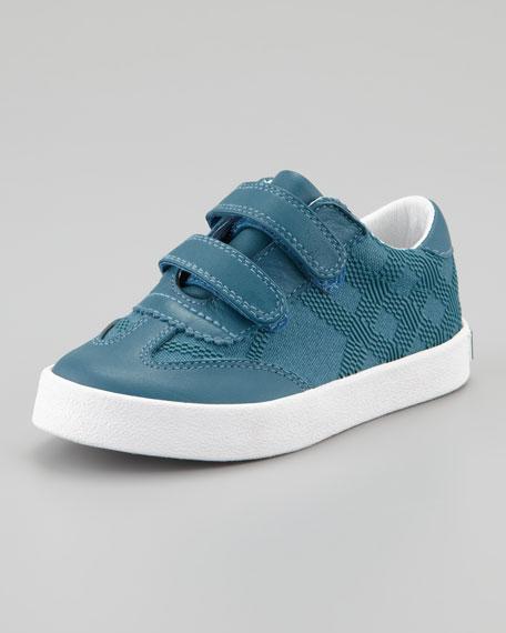 Tonal Check Sneaker, Toddler Sizes