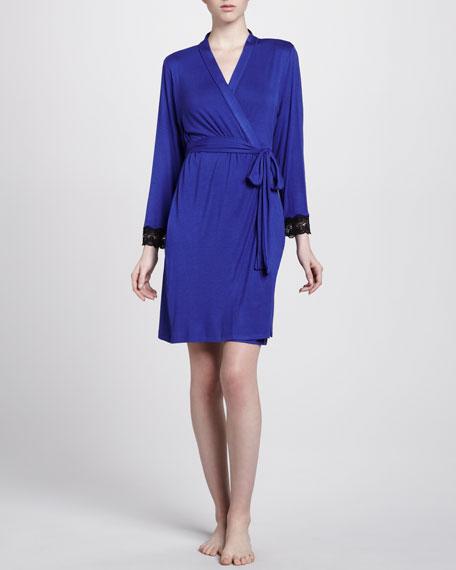 Lace-Trimmed Twilight Robe