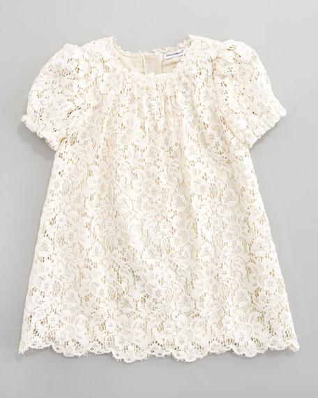 Lace A-Line Dress, Sizes 4-6