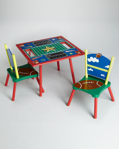 All Star Football Table and Chairs Set