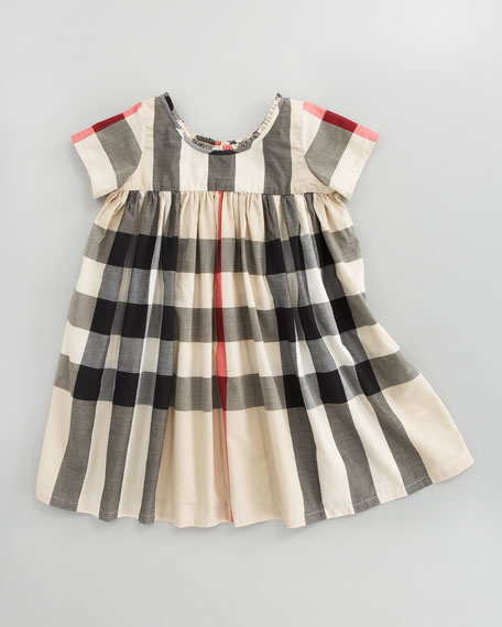 Voile Check Dress