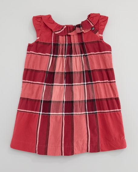 Check Dress, Boysenberry