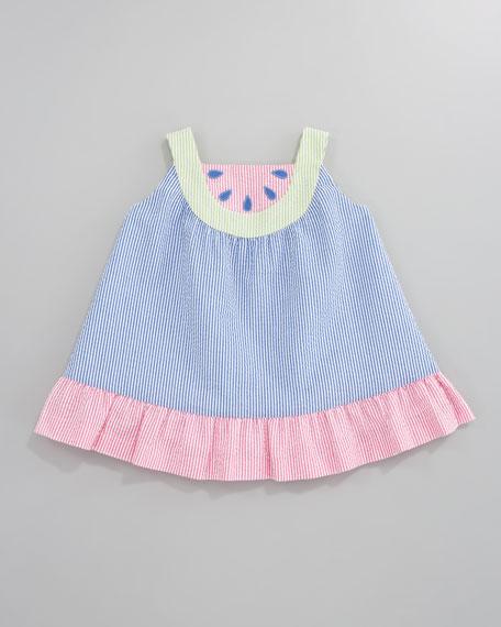 Summertime Treat Watermelon Dress, Sizes 2T-3T