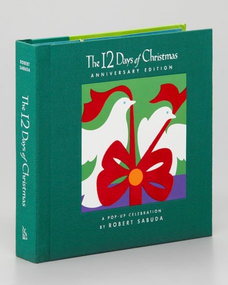"""""""12 Days of Christmas"""" Story Book"""