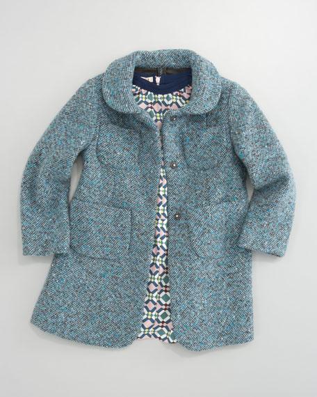 Tweed Coat, Sizes 2-6