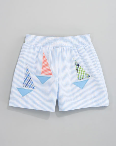 Stay the Course Swim Shorts, Sizes 12-24 Months