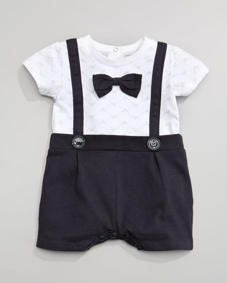 Bow-Tie Playsuit