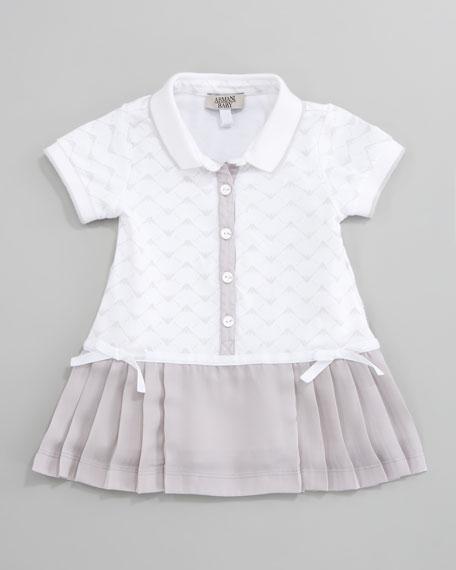 Logo Knit Tennis Dress