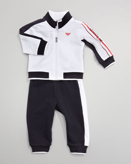 Colorblock Track Suit