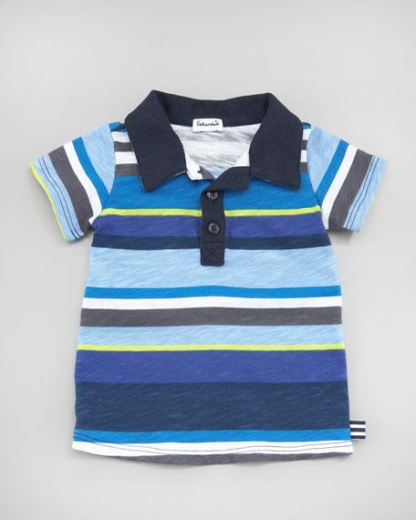 Pensacola Striped Polo Shirt