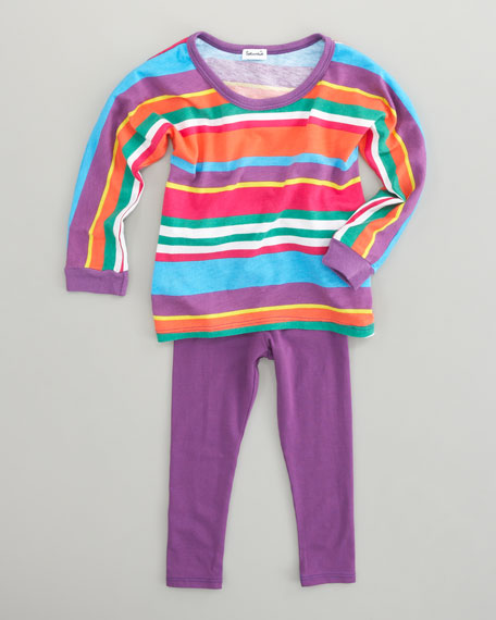 Pensacola Stripe Tunic & Leggings Set, Sizes 2T-3T