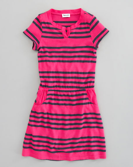 Capri Striped Dress, Sizes 4-6X