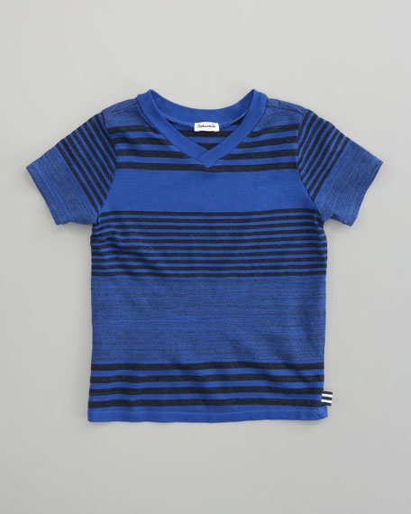 Vintage Striped V-Neck Tee, Sizes 2T-3T