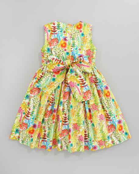 Garden Print Party Dress