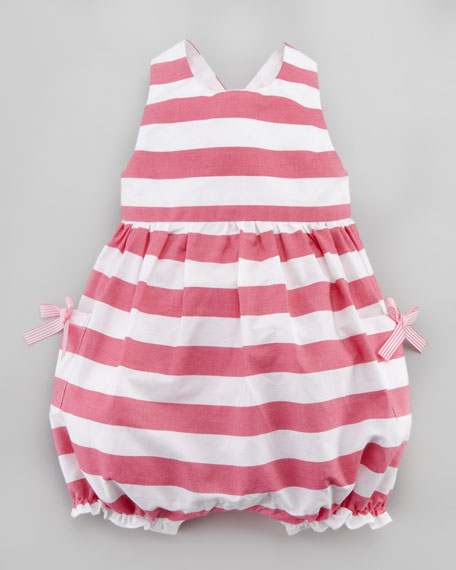 Lazebrure Striped Playsuit