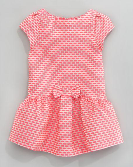 Lanniversaire Jacquard Dress