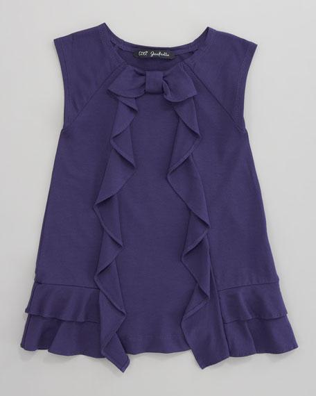 Laurore Jersey Ruffle Dress