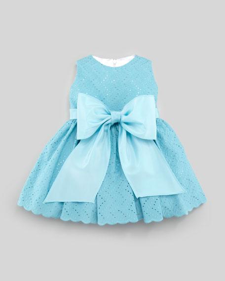 Eyelet Cupcake Dress, Sizes 12-24 Months