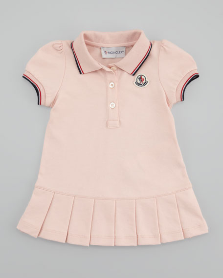 Pique Pleated Dress & Bloomers