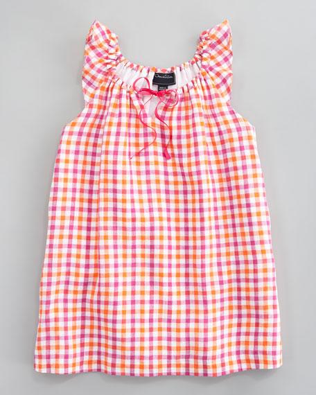 Bright Check Dress
