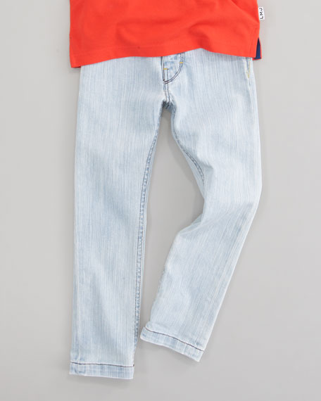 Slim-Fit Denim Pants, Sizes 6-10