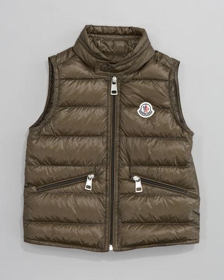 Gui Long Season Packable Quilted Vest, Sizes 8-10