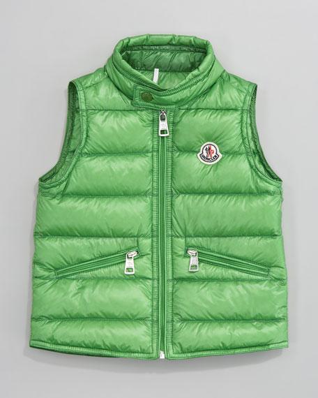 Gui Long Season Packable Quilted Vest, Sizes 12-14