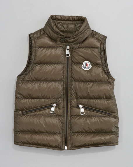 Gui Long Season Packable Quilted Vest, Sizes 12-14