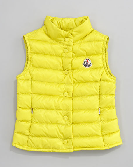 Llane Long Season Packable Quilted Vest, Sizes 8-10