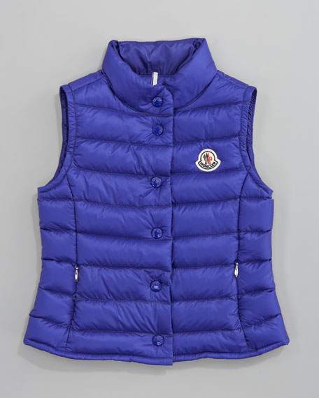 Llane Long Season Packable Quilted Vest, Sizes 12-14
