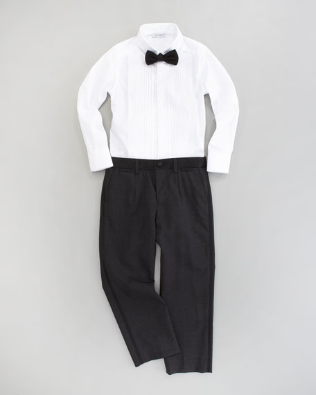 Tuxedo Shirt, Sizes 4-6