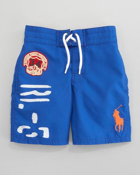 Sanibel Swim Trunk, Marbella Blue