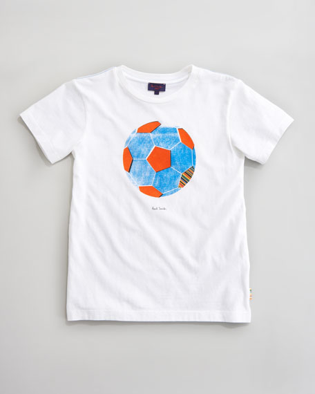 Dhiango Soccer Ball Tee, Sizes 2-6