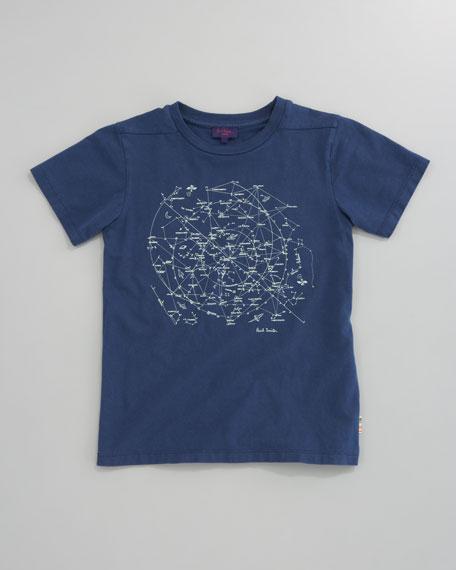 Damarion Constellation Tee, Sizes 2-6