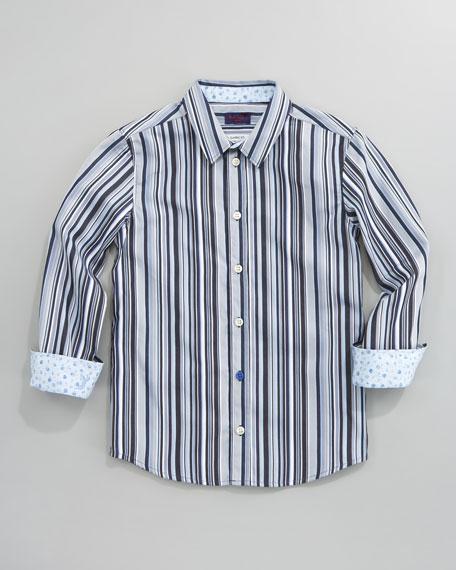 Darin Striped Shirt, Sizes 2-6
