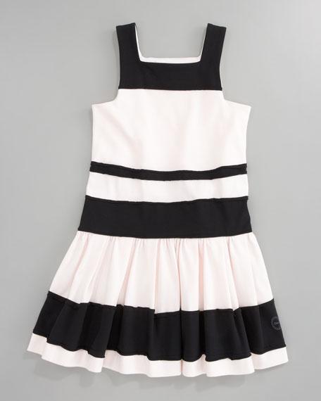 Striped Jersey Dress, Sizes 5-8