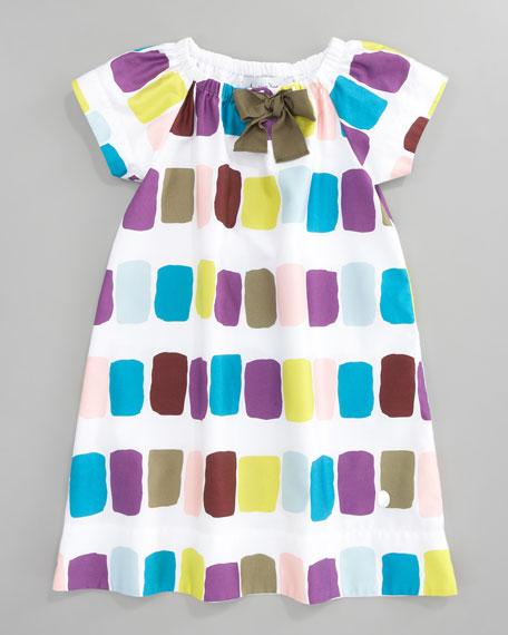 Print Shift Dress, Sizes 2-4