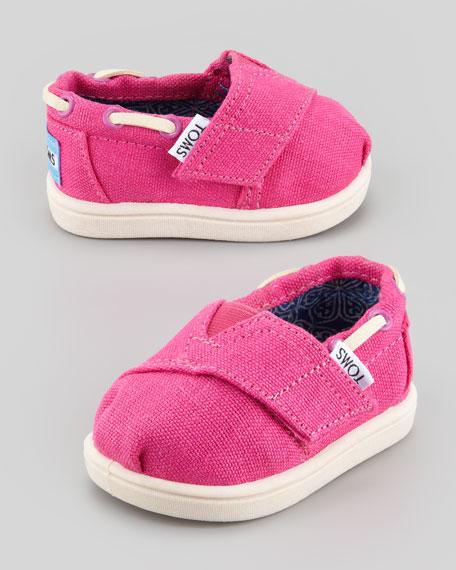 Tiny Earthwise Bimini Shoe, Cranberry