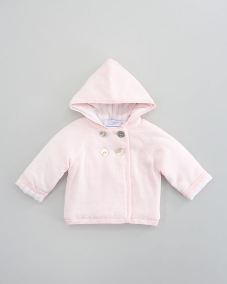 Tribord Double Hooded Jacket, Rose Pale