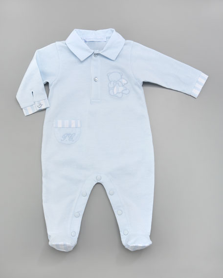 Ticalin Jersey Footed Sleepsuit