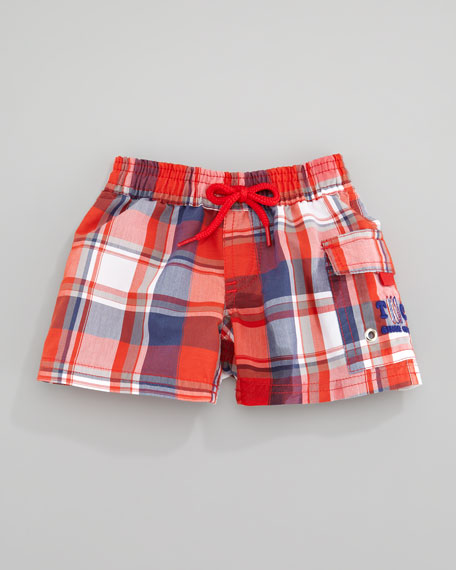 Tisurf Plaid Swim Shorts