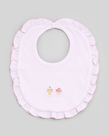 Summer Pleasure Ice Cream Embroidered Bib