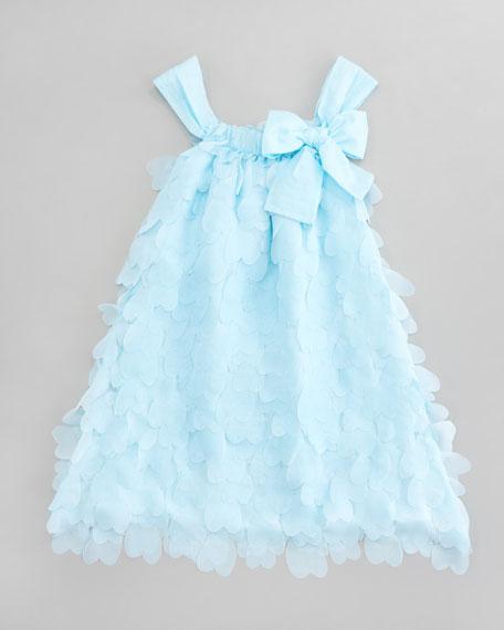 Heart Appliqu<!--Illegal Character= --> Dress, Siezes 4-6X